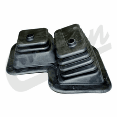 ( 5752141 ) Transmission and Transfer Case Shifter Boot for 1980-1986 Jeep CJ w/ T176 Transmission, Dana 300 Transfer Case by Crown Automotive