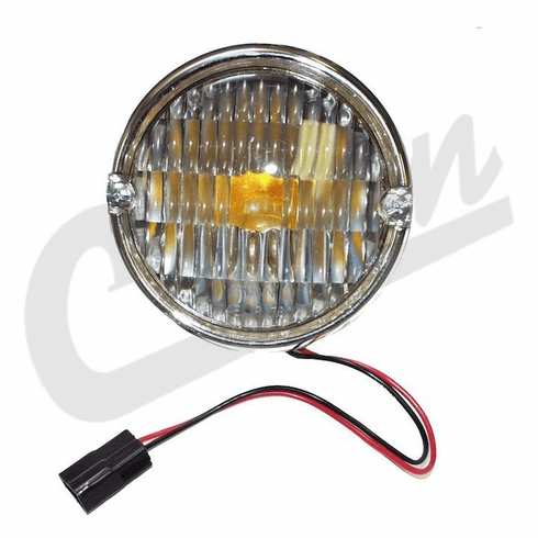 ( 5752771 )  Front Parking Lamp Assembly, Fits 1976-1986 Jeep CJ5, CJ7 & CJ8 Scrambler by Preferred Vendor