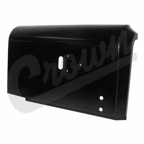( 5764221 )  Replacement Drivers Side Rear Corner Panel Section For 1976-1986 Jeep CJ7 Models by Preferred Vendor