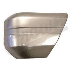 ( 5CU47RV1 ) Driver Side Front Bumper End Cap Pearl Stone for 1994-96 Jeep Cherokee XJ By Crown Automotive