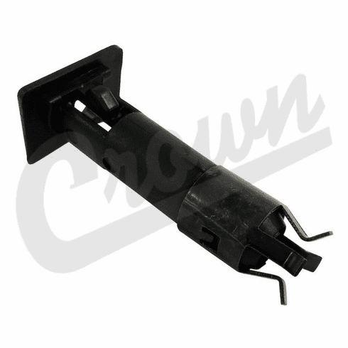 ( 5FB63RXA ) Door Pin Insert Black for 1987-02 Jeep Wrangler YJ and TJ By Crown Automotive