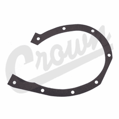 ( 630365 ) Timing Cover Gasket for 1941-1971 Willys Jeep L-134 & F-134 4 Cylinder Engines  by Crown Automotive