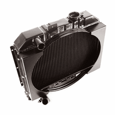 ( 640145 ) Radiator, 2 Row With Shroud, 1941-1945 MB, 1941-1945 Ford GPW, 1945-1949 CJ2A, 1950-1952 M38 by Omix-Ada