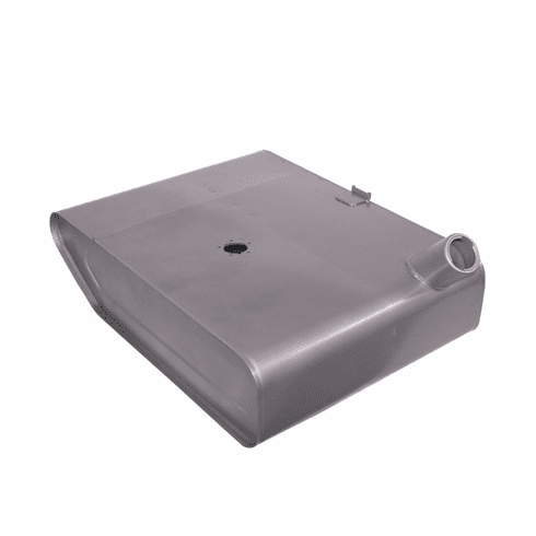 ( 640685 ) Replacement Steel Under-Seat Gas Tank for 1945-1956 Willys Jeep CJ2A, CJ3A, Early CJ3B by Preferred Vendor