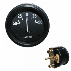 ( 640761 ) Replacement Ammeter Gauge for 1941-1956 Jeep Willys MB, GPW, CJ2A, CJ3A, CJ3B by Omix-Ada