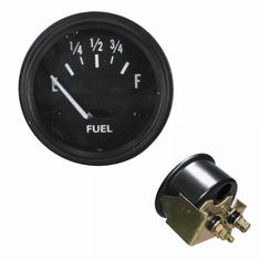 ( 640763 ) Replacement Fuel Gauge, For 6V Systems, 1941-1956 Jeep MB, GPW, CJ2A, CJ3A, CJ3B by Omix-Ada