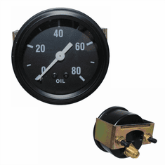 ( 640764 ) Replacement Oil Pressure Gauge for 1941-1947 Willys Jeep MB, GPW, CJ2A Models by Omix-Ada