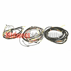 ( 641949T ) Wiring Harness Kit, with Turn Signal Wiring, Horn on Firewall, Fits 1945 - Early 1946 Willys Jeep CJ2A by Omix-Ada