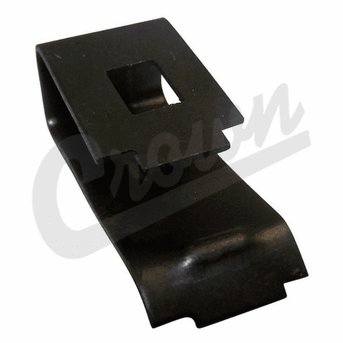 ( 641997 ) Brake Shoe Hold Down Clip, Fits 1946-1964 Willys Truck, FC150, FC170, Jeepster VJ, Station Wagon by Crown Automotive