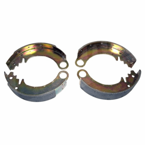 """( 642967 ) Brake Shoes, Front or Rear Axles, 9"""" x 1-3/4"""", 1941-1953 MB, Ford GPW, CJ2A, CJ3A, M38 by Preferred Vendor"""