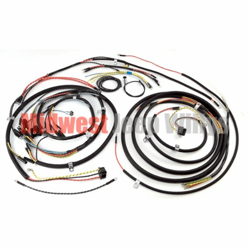( 645743T ) Wiring Harness Kit with Turn Signal Wiring for 1948-1953 Willys Jeep CJ3A Models by Omix-Ada