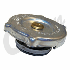 "( 648360 ) 7lb Radiator Cap used on 1953-1971 Willys Jeeps with 1-1/2"" Inside Dia. Cap by Crown Automotive"