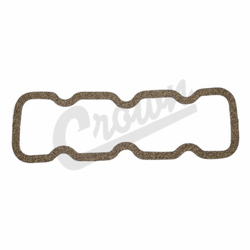 ( 648798 ) Rocker Cover Gasket for Willys Jeep 4-134 CI F-Head Hurricane 4 Cylinder Engines, 1952-1971 Models by Crown Automotive