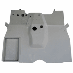 ( 671019-MB ) Replacement Front Floor Panel  fits 1941-1945 Willys MB and Ford GPW by Omix-Ada