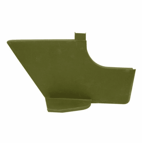 ( 671059-M38 ) Reproduction Left Side Cowl Panel with Step fits 1950-1952 Willys M38 by Omix-Ada