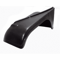( 688233 ) Left Front Fender, Drivers Side, Jeep 1955-1968 CJ5 & CJ6, Without Side Marker Indent by Omix-Ada