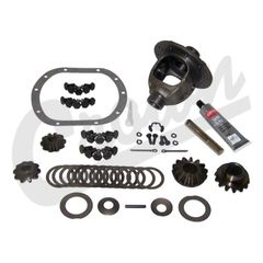 Differential Case Assy w/ 3.73, 4.10, 4.56 or 4.88 Ratio, Dana 30 Front Axle,  1987-1989 Wrangler, 1984-1989 Cherokee XJ