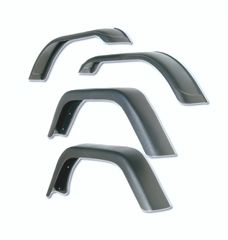 7-Inch Fender Flare Kit, 76-86 Jeep CJ7 by Rugged Ridge