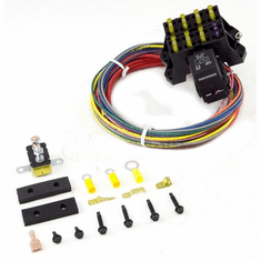 ( 70107 ) Painless Wiring 7 Circuit Fuse Block with Hardware, Universal Jeep Applications