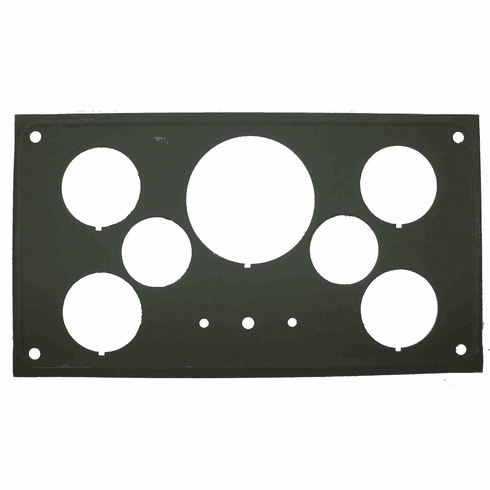 ( 7673448 ) Replacement Instrument Cluster Panel fits 1950-1952 Willys M38 by Omix-Ada