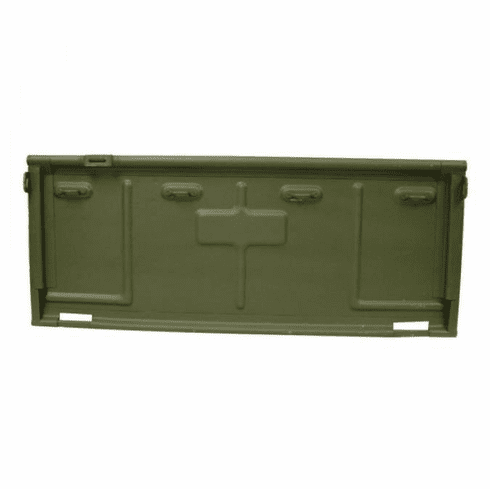 ( 7697445 ) Replacement Steel Tailgate for 1950-1952 Willys Jeep M38 by Omix-Ada
