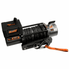 ( 77-53141W ) SEC8 Scout ES Premium Truck, SUV, Jeep Winch 8,000 lb. Capacity with Synthetic Rope by Mile Marker