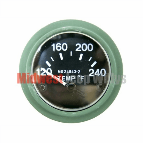 ( 7728855 ) New Electric Temperature Gauge, 24 Volt for Dodge M37 Truck by Newstar