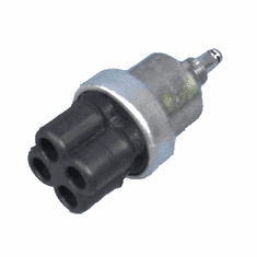 ( 800451 ) Ignition Switch, 24 Volt, Packard Type Rubber Connectors, Fits 1950-1966 M38, M38A1   by Preferred Vendor