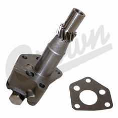 ( 804484 ) Oil Pump for L-134 & F-134 4 Cyl. Engines, Gear to Gear Timing, fits 1946-1971 Jeep & Willys Vehicles by Crown Automotive