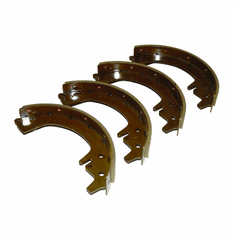 "( 804981 ) Brake Shoe Set 10"" (per axle) Fits 1946-1955 Jeepster VJ, 2WD Station Wagon    by Preferred Vendor"