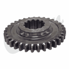 ( 809290 ) Sliding Gear, Output Shaft, 33 x 12 Teeth, fits 1953-1966 Jeep & Willys with Dana Spicer 18 Transfer Case  by Crown Automotive