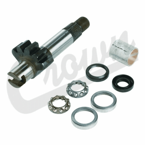 ( 8120221K ) Manual Steering Gear Assembly Repair Kit, 1972-1986 Jeep CJ, C104 Commando By Crown Automotive