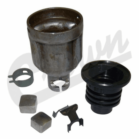 ( 8121299K ) Steering Shaft Coupling Kit, fits 1976-1986 Jeep CJ5, CJ7, CJ8 Models with Manual Steering By Crown Automotive