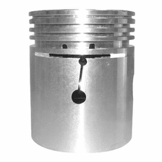 ( 8121654-060 ) Piston & Pin, .060 Oversize for Willys Jeep L-134 & F-134 4 Cylinder Engines by Omix-Ada