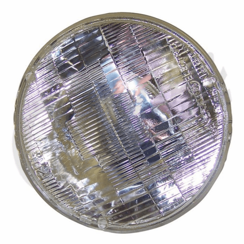 ( 8124687 )  Sealed Beam Headlight, Fits 1969-1986 Jeep CJ, 1972-1973 C104 Commando by Preferred Vendor