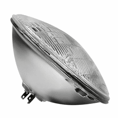 ( 8124687E ) Sealed Beam Headlight, 12 Volt, Fits 1957-1975 Jeep CJ5, CJ6 & Willys Models by Preferred Vendor
