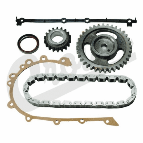 ( 8126681K ) Timing Chain Kit for 1972-90 Jeep Vehicles with 4.2L 258c.i. 6 Cylinder Engine By Crown Automotive