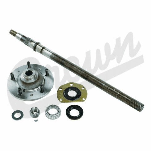 """( 8127070K ) Drivers Side Axle Shaft Kit, 26-1/4"""" In Length, For 1976-83 Jeep CJ-5 & 1976-81 CJ-7 with AMC Model 20 Rear Axle By Crown Automotive"""