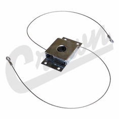 ( 8128163 )  Hardtop Liftgate Cable Cam Assembly, With Cables 1976-1986 Jeep CJ7 Models by Preferred Vendor