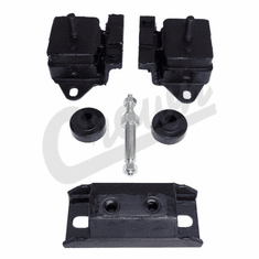 ( 8128488K ) Engine Mount Kit for 1978-1986 Jeep CJ with 4.2L & 1974-1990 Jeep SJ with 4.2L  By Crown Automotive