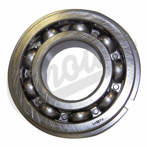 ( 83300000 ) Maindrive Gear Bearing for 1980-83 Jeep CJ Series with SR4 Transmission; 1991-01 Cherokee XJ, 1993-04 Grand Cherokee ZJ & WJ with NP242 Transfer Case by Crown Automotive