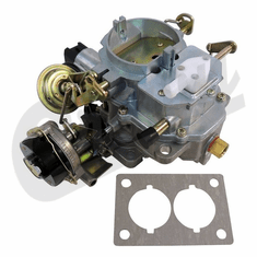 ( 83320007 ) Carter BBD Carburetor with Electric Stepper Motor for 1982-90 Jeep CJ & Wrangler YJ with 4.2L by Crown Automotive