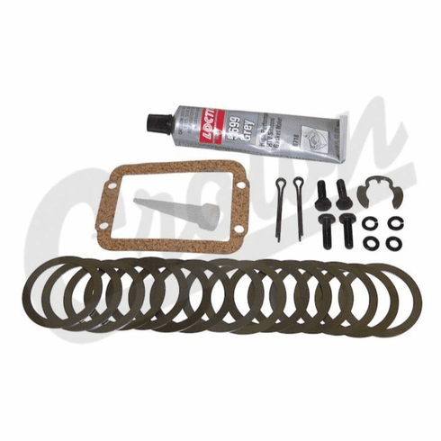 ( 83500191 ) Differential Side Bearing Shim Kit, 1984-2001 Cherokee, 1987-1995 Wrangler w/ Dana 30 Front Axle by Crown Automotive