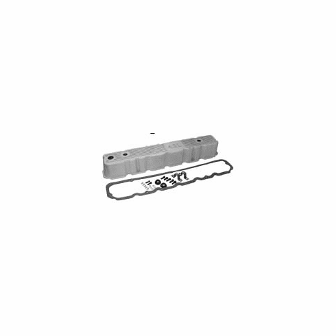( 83501398AL )  Non-Painted Aluminum Valve Cover Kit - For 1981-1986 CJs W/ 4.2L Engine. ReplACes Plastic Oem Type Valve Cover by Preferred Vendor