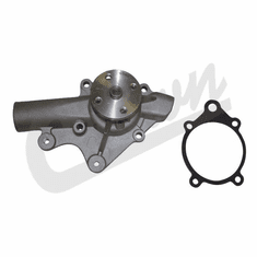 ( 83502957 ) Water Pump for 1987-1990 Jeep Wrangler YJ w/ 2.5 or 4.2L Engine & Cherokee XJ 1987-1990 w/ 2.5L Engine by Crown Automotive