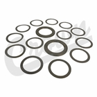 ( 83503004 ) Differential Bearing Shim Kit for 1987-07 Jeep Wrangler YJ, TJ, JK, 1984-01 Cherokee XJ, 1993-98 Grand Cherokee ZJ & with Dana 35 Rear Axle by Crown Automotive