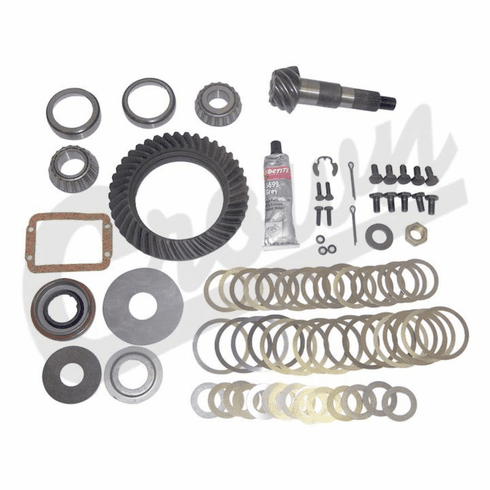 ( 83503424 ) Ring & Pinion Kit, 4.56 Ratio, 1984-1999 Cherokee, 1987-1995 Wrangler w/ Dana 30 Front Axle by Crown Automotive