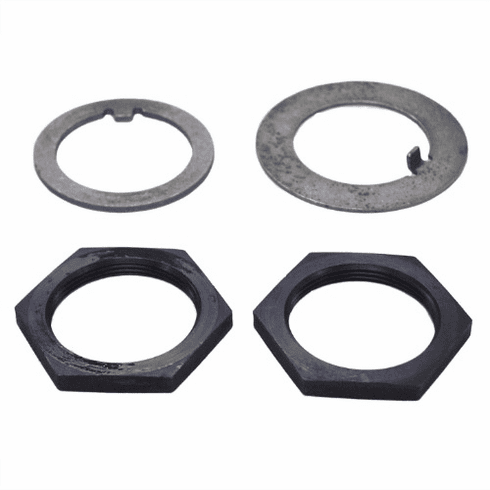 ( 867KM100 ) Spindle Nut & Washer Kit, Fits WWII 1/4 Ton, M100 Trailer by Preferred Vendor