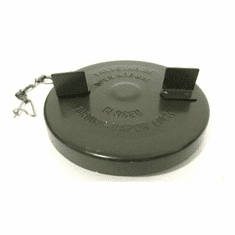 ( 905745 ) Metal Gas Cap, Olive Drab, fits 1950-1966 Willys Jeep M38 and M38A1 Models by Preferred Vendor