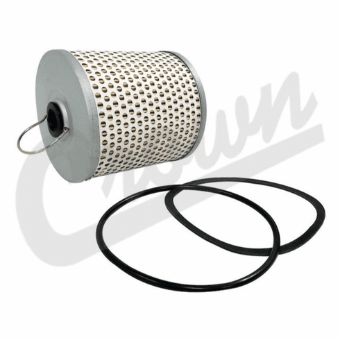 ( 909335 ) Oil Filter Element, C-3 Small, fits L-134, F-134 & 6-226 Super Hurricane Engines by Crown Automotive